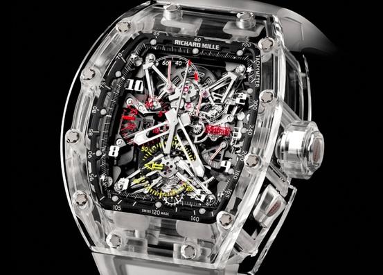hingucker die teuerste uhr der welt komplett aus saphirglas armbanduhren blog. Black Bedroom Furniture Sets. Home Design Ideas
