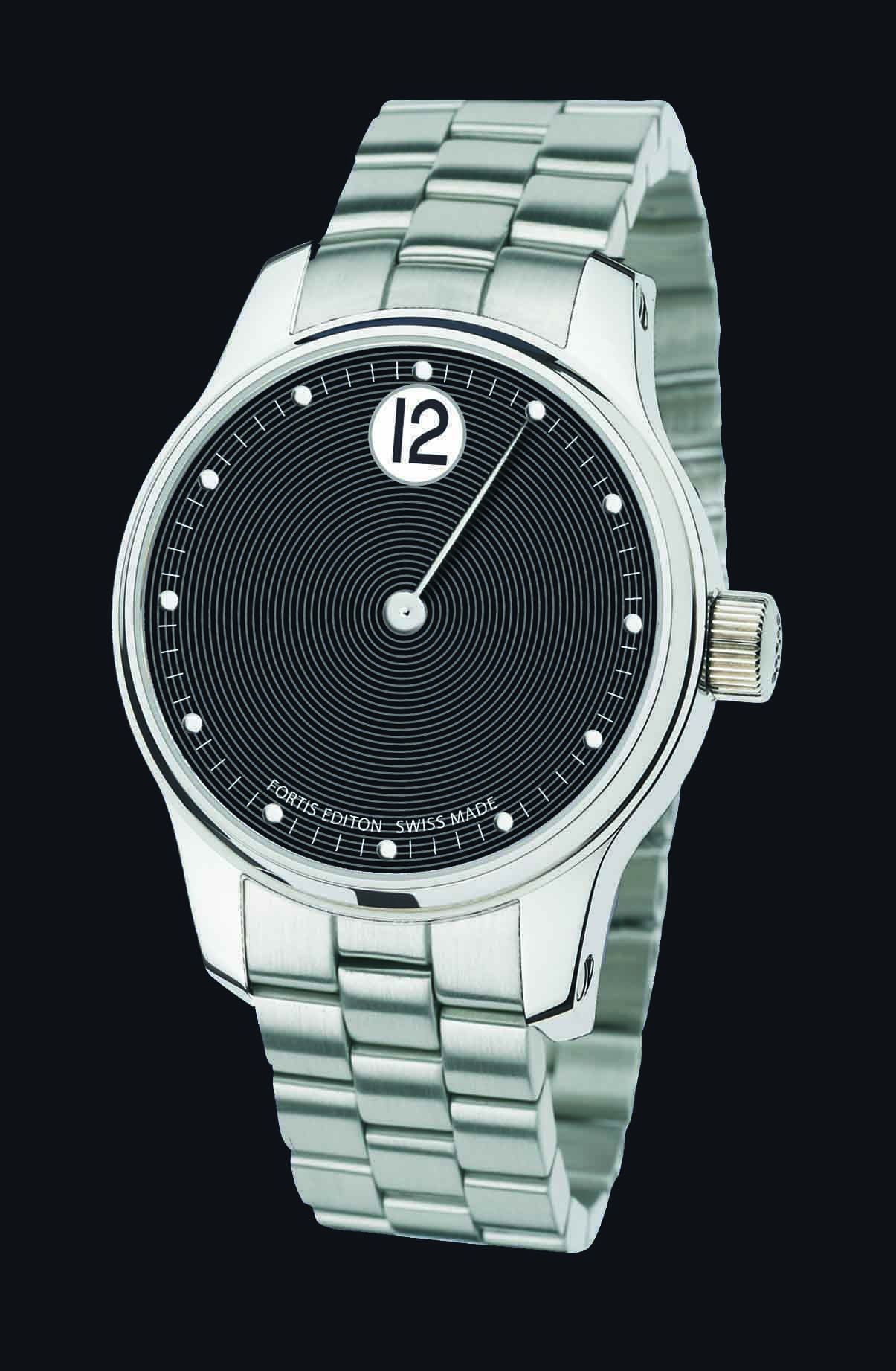 FORTIS-700_Jumping_Hour_black_M_