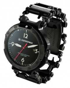 Leatherman-Tread-watch-black