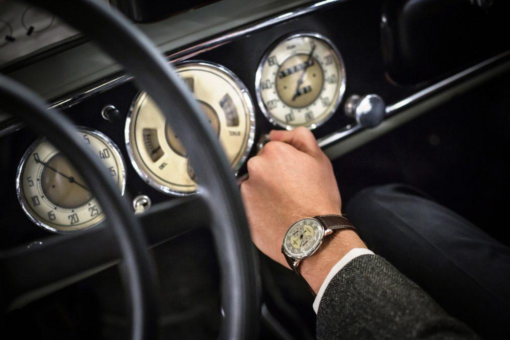 Meister Driver Chronoscope_Armaturenbrett